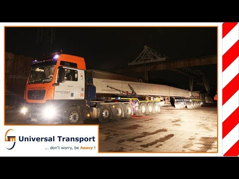 Universal Transport - Transport of pre-fabricated concrete parts