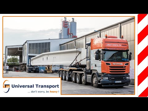 Universal Transport - Concrete Transport, with gray gold on the road