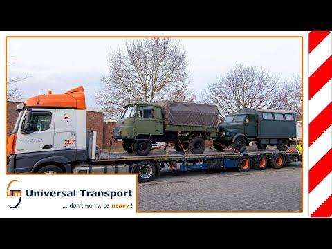 Historical Police Trucks - Universal Transport