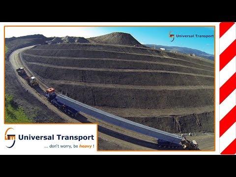 Universal Transport - concrete bridge components for Romania