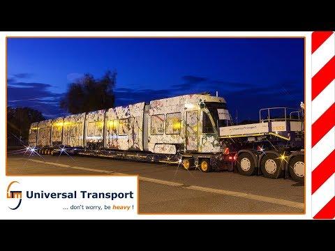 Universal Transport - On rails to Switzerland