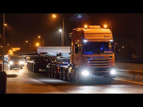 eurotransportTV - Schwertransport, Giganten unterwegs