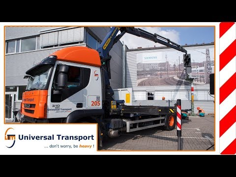 Universal Transport - Ceremony for the 10.000th Siemens signal