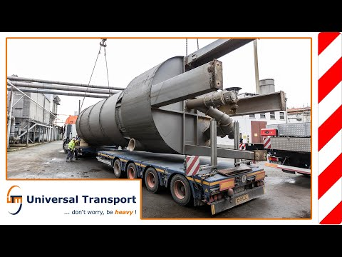 Disassembly and transport of 3 filter systems - Universal Transport